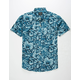 BLUE CROWN Lost Flower Mens Shirt