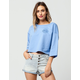 SIGNORELLI x ASHLEY TISDALE Chill Womens Crop Sweatshirt
