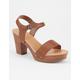 SODA 2 Strap Wood Heels