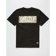 GRIZZLY Sycamore Box Logo Mens T-Shirt