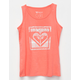 ROXY Logo Icon Girls Tank