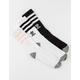 ADIDAS 3 Pack Roller Crew Girls Socks