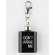 Don't Judge Me Flask Keychain