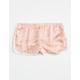 FULL TILT Hammered Satin Girls Dolphin Shorts