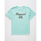 DIAMOND SUPPLY CO. Diamond Life Script Boys T-Shirt