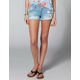 HYDRAULIC Dip Dye Sides Womens Denim Cutoff Shorts