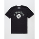 HURLEY Borderluck Mens T-Shirt