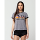 VOLCOM River Party Womens Ringer Tee