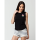 RIOT SOCIETY Coco Womens Muscle Tee