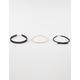 FULL TILT 3 Pack Bow/Lasercut Chokers