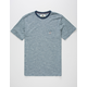 VISSLA Soft Top Mens Pocket Tee