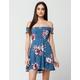 GYPSIES & MOONDUST Smocked Floral Dress