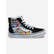VANS Dallas Clayton Sk8-Hi Zip Kids Shoes