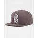 REBEL8 Worldwide Domination Mens Snapback Hat