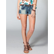 HIPPIE LAUNDRY Womens Bleach Cutoff Denim Shorts