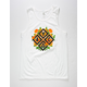 ASPHALT YACHT CLUB Floral Diamond Mens Tank