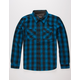 PRIMITIVE Detroit Shadow Mens Flannel Shirt