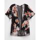 FULL TILT Mesh Inset Girls Kimono