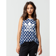 ADIDAS Trefoil Dotted Womens Loose Tank