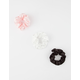 FULL TILT 3 Pack Satin Scrunchies