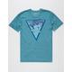 RIOT SOCIETY Retro Triangle Mens T-Shirt