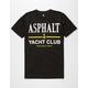 ASPHALT YACHT CLUB Yacht Logo Mens T-Shirt