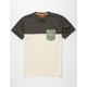 ASPHALT YACHT CLUB Striped Mens Pocket Tee