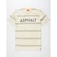 ASPHALT YACHT CLUB Striped Mens T-Shirt