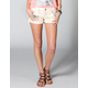 HIPPIE LAUNDRY Floral Cuff Shorts