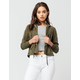 RSQ Rayon Womens Crop Jacket
