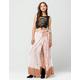 FULL TILT Dip Tie Dye Maxi Skirt