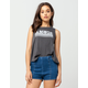 AMUSE SOCIETY Destination Womens Muscle Tee