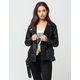 ASHLEY Oversized Moto Womens Faux Leather Jacket