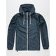 INDEPENDENT TRADING COMPANY Lightweight Navy Mens Windbreaker Jacket