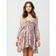 FREE PEOPLE Monarch Cold Shoulder Dress