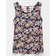 FULL TILT Floral Cage Back Girls Tank