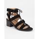 SODA Braided Strap Girls Sandals
