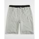 ELWOOD Raw Edge Zip Boys Jogger Shorts