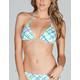 FULL TILT Plaid Bikini Top