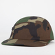 ROTHCO Woodland Camo Mens 5 Panel Hat
