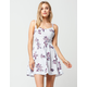 FULL TILT Floral Cross Back Dress