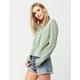 JOLIE Lace Up Womens Sweatshirt