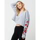 HONEY PUNCH Rose Womens Sweatshirt