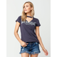 FULL TILT Los Angeles Womens Choker Tee