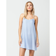 FULL TILT Embroidered Slip Dress