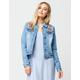 JOU JOU Embroidered Womens Denim Jacket