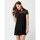 FULL TILT Mesh T-Shirt Dress
