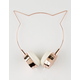 Rose Gold Cat Ear Headphones