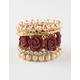 FULL TILT 5 Pack Gigi Friendship Bracelets