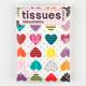 Heart Print Tissues